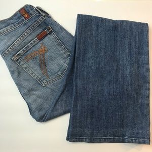 7 FOR ALL MANKIND Dojo Light Wash 7 Pocket Jean